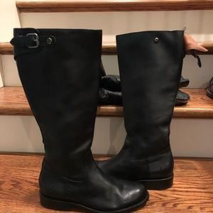 Frye women's boots black sz 8 new with defects
